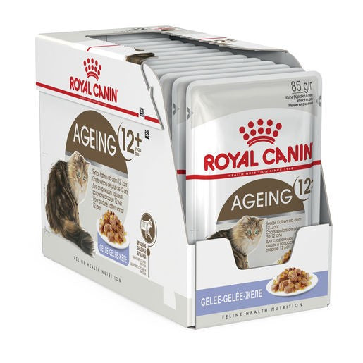 Pack of 12 Royal Canin Cat Instinctive 12+ Jelly 85g Pouch