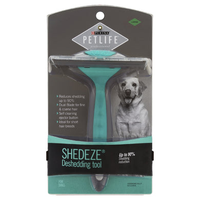 Purina Pet Life Shedeze Deshedding Tool Large