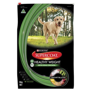 Supercoat Dog Healthy Weight Chicken 18kg
