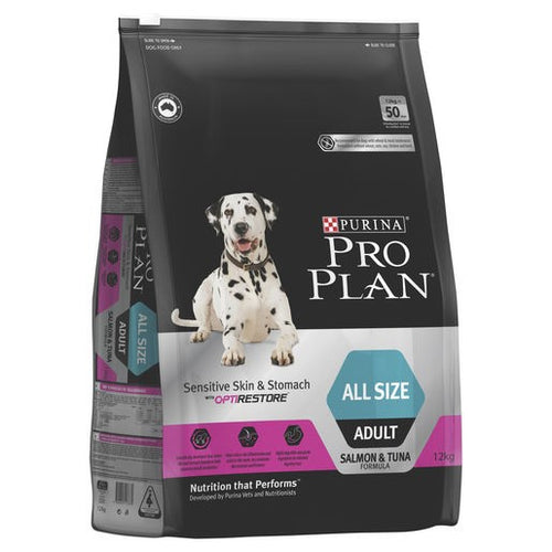 Pro Plan Dog Adult Sensitive Skin & Stomach 12kg
