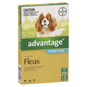 Advantage Dog Aqua 4-10Kg 6Pk