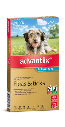 Advantix Dog Aqua 4kg - 10kg