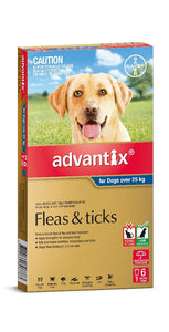 Advantix Dog Blue over 25kg