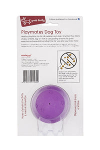 Yours Drooly Playmates Treat Ball Small Purple