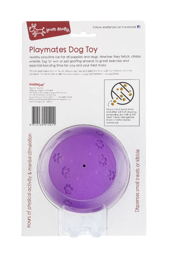 Yours Drooly Playmates Treat Ball Large Purple