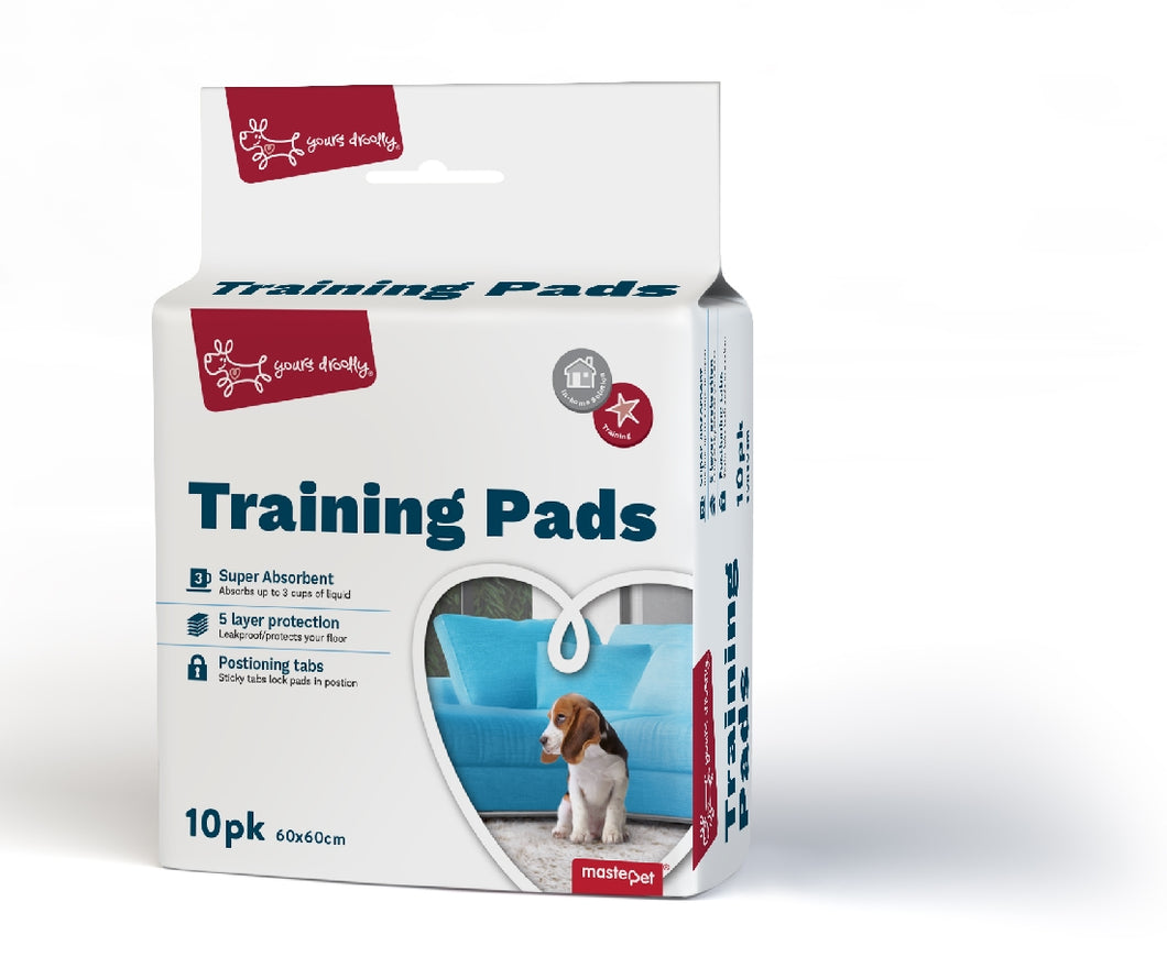 Yours Drooly Training Puppy Pads pack of 10