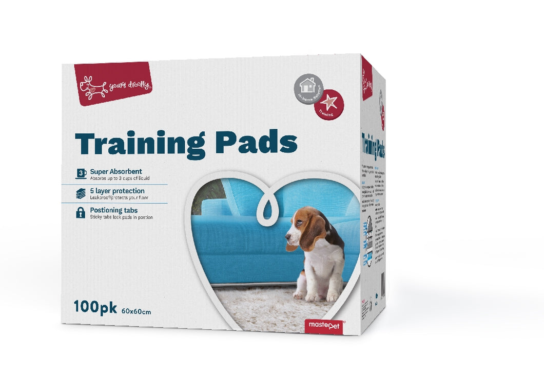 Yours Drooly Training Puppy Pads pack of 100