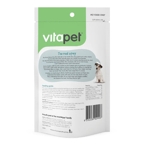 Vitapet Jerhigh Duck Tenders 100G