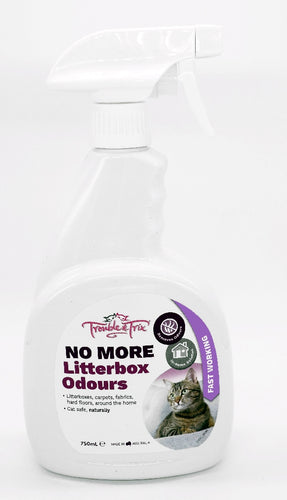 Trouble & Trix No More Litterbox Odours 750ml