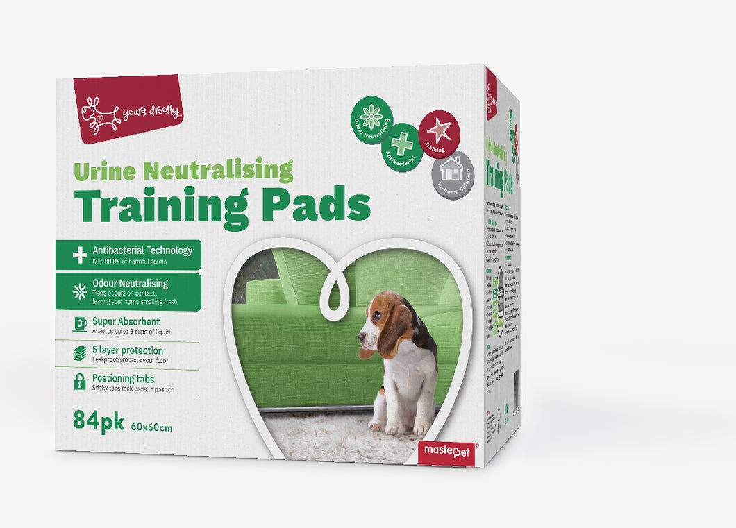 Yours Drooly Urine Neutralising Puppy Pad 84 pack