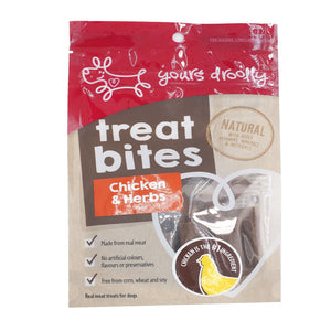 Yours Drooly Chicken & Herb Treat 100g