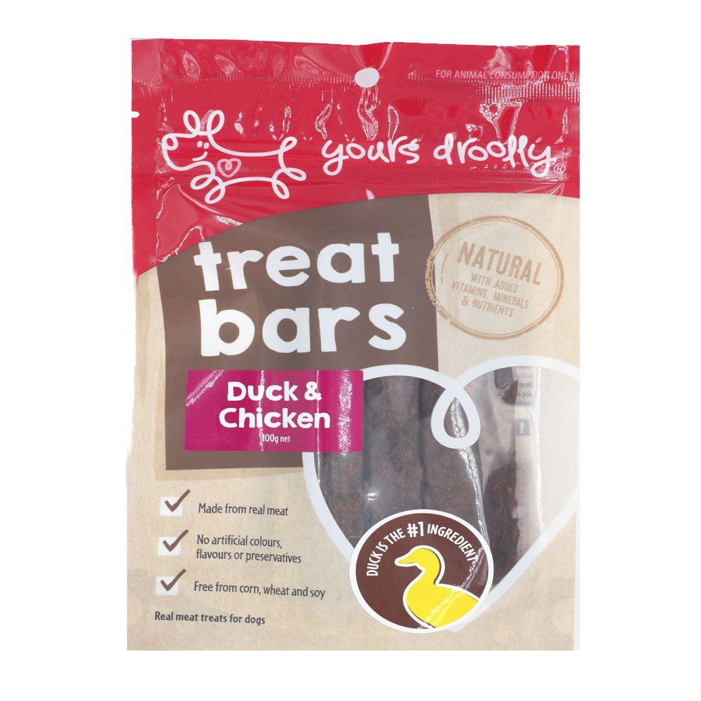 Yours Drooly Duck & Chicken Treat 250g