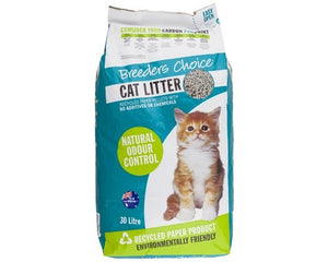 Breeders Choice Cat Liitter 30 ltr