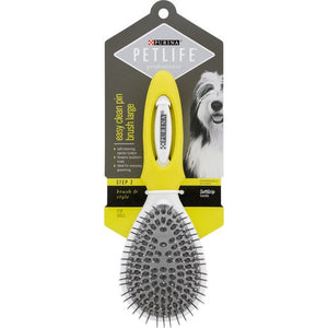Purina Pet Life Professional EasyClean Pin Brush-Lge
