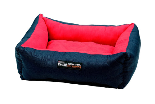 Purina Pet life Self Warming Bed - Large Red