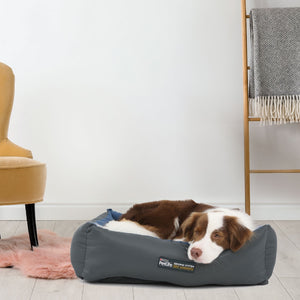 Purina Petlife Self Warming Bed - Large Blue