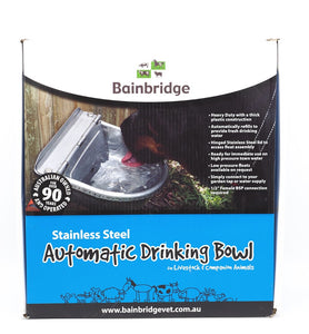 Bainbridge Automatic Stainless Steel Drinking Bowl