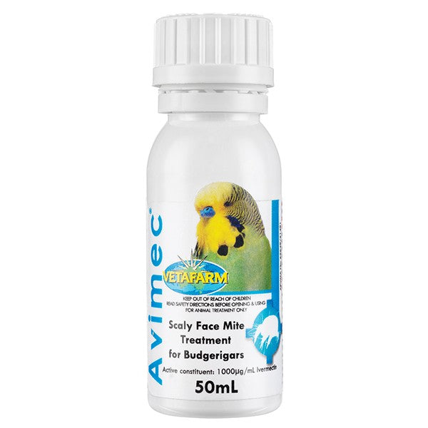Vetafarm Avimec 50 ml Scalyface Treatment