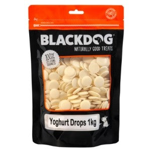 Black Dog Yoghurt Drops 250g