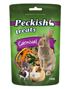 Peckish Carnival Treat for small animals 150g