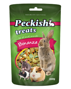 Peckish Bonanza Treat for small animals 150g