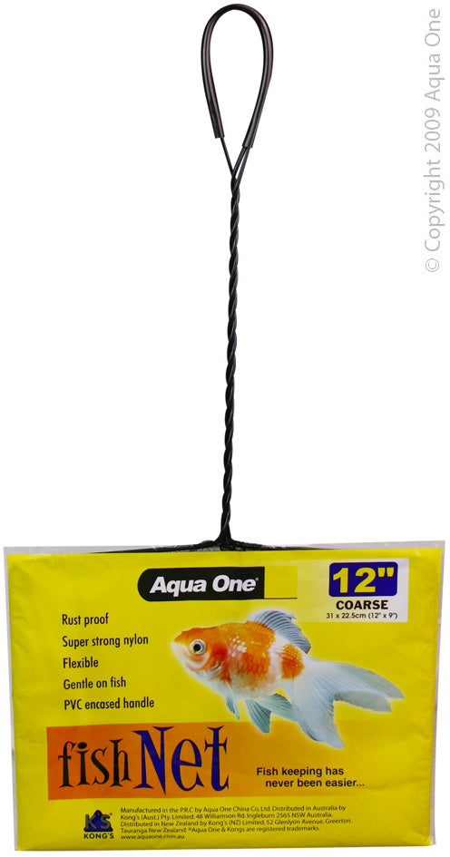 Aqua One 12 inch Course Net