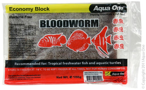 Aqua One 90002 100G Flat Pack Bloodworm