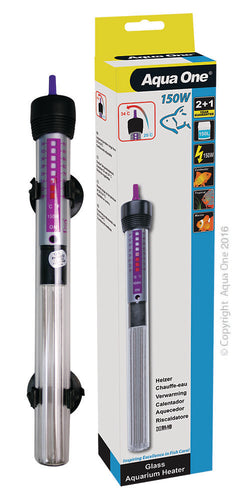 Aqua One Glass Heater 150 watt