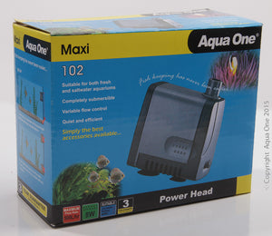 Aqua One 102 Maxi Powerhead 500 Ltr/Hour 1.05M Max Head