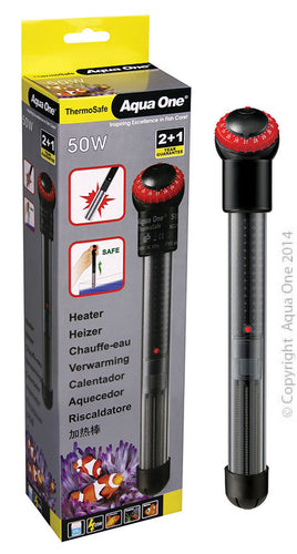Aqua One Thermosafe Heater 50 watt