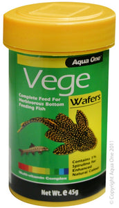 Aqua One Algae Wafers 45g