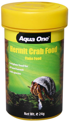 Aqua One Hermit Crab Flake Food 24G