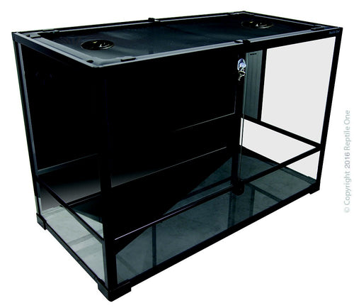 Repti One Rtf-900Ht Terrarium Glass (Hinged Doors) 90Cm