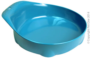 Pet One small animal bowl melamine 210ml BLUE