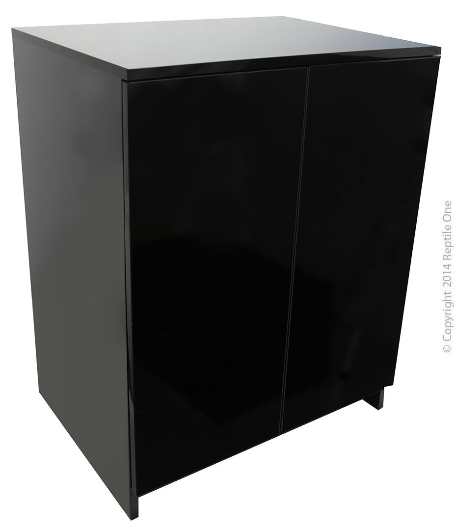 Repti One Cabinet Roc-600, 60X45Cm , 76Cmh - Gloss Black
