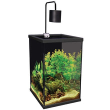 Aqua One Dynamic 58 Aquarium Tank & Cabinet 58L 35cm W x 35cm D x 58/72cm H (Black)*AVAILABLE FOR IN STORE PICK UP OR FREE LOCAL DELIVERY ONLY