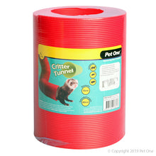 Pet One Critter Tunnel Red
