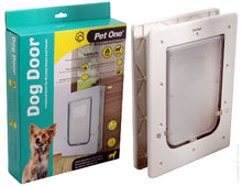 Pet One Dog Door for timber doors dogs up to 9kg small