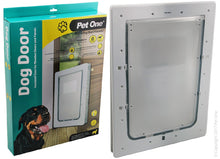 Pet One Dog Door for timber doors  dogs up to 25kg large