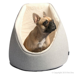 Pet One Bedding Igloo 51x51x47cm Arctic Grey