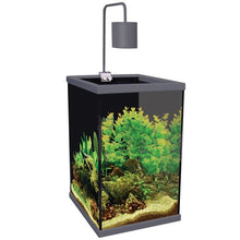Aqua One Dynamic 58 Aquarium Tank & Cabinet 58L 35cm W x 35cm D x 58/72cm H (Grey)*AVAILABLE FOR IN STORE PICK UP OR FREE LOCAL DELIVERY ONLY