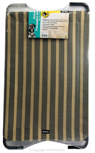 Pet One Raised Dog Bed Wheat And Grey Medium *Available in store or free local deliver only*