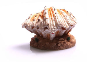 Aqua One Ornament Air Operated Clam On Sand 9.3cm x 9cm x 6.5cm