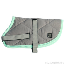 Pet One Dog Coat Night Sleeper Grey Turquoise