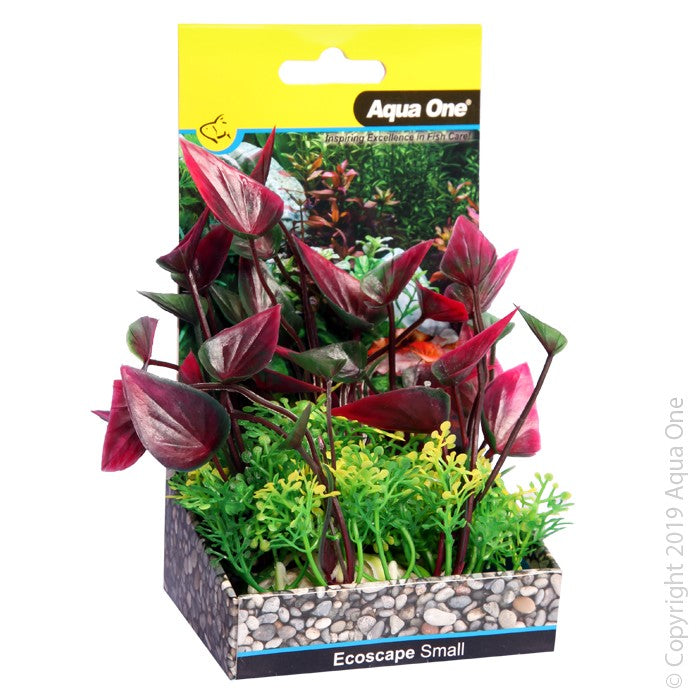 Aqua One Ecoscape Small Lily Red