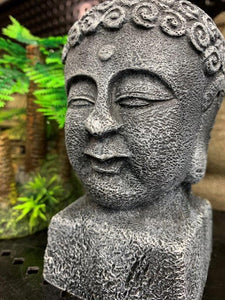 Aqua One Ornament Budda Head 7.5cm x 8.5cm x16cm