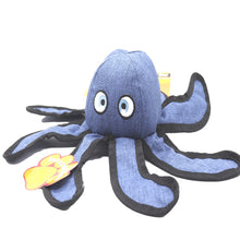 Pet One Dog Toy Interactive Octopus Blue 32cm