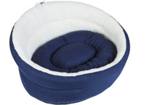 Choozy Fashions Jumbo Cubby Navy Cream Australian Cotton