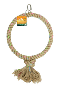 Birdie - Jute Parrot Ring Giant Single - 25cm