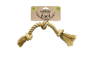 Natures Choice Triple Knott Jute Toy 46cm (180-190gm)